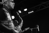 Gyedu-Blay-Ambolley  SaxophoneConcert Paris New-Morning